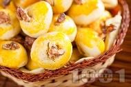 Рецепта Лесни обикновени курабийки с маслено тесто